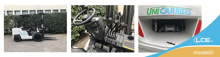 Il nuovo carrello UniCarriers DX2 è disponibile da LCE