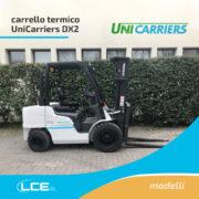 Carrello elevatore DX2 - UniCarrier